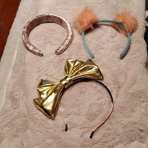 NWOT Zara, Hatley girl's headbands